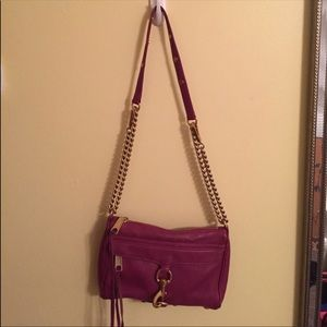 REBECCA MINKOFF Leather Mini MAC Crossbody Bag
